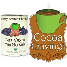 Our Dark Vegan Mini Morsels are superb for baking!  Rich with our signature dark cocoa these chips are created by a precise blend of deep–roasted cacao beans and hand selected ingredients.  #cocoacravings #brandofesutras #vegan #chocolate #dark #minimorsels  Available at http://www.cocoacravings.com/chocolate-bars/614-vegan-semi-sweet-chips.html