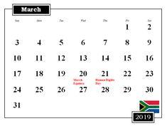 2019 Weekly Calendar Printable #calendar2019 #