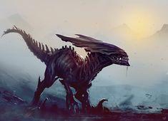 Xenoraptor, Nagy Norbert on ArtStation at https://www.artstation.com/artwork/xeno-raptor