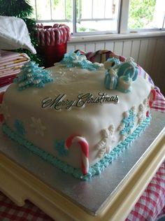 First ever fondant cake