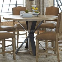 Shenandoah Round Counter Height Table Progressive Furniture | Furniture Cart