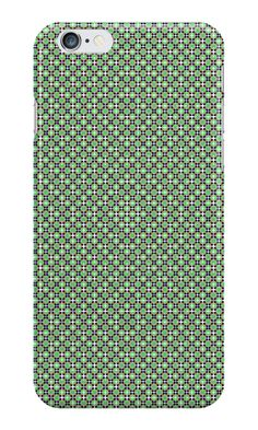 #IPhone #case / #skin with pattern green http://www.redbubble.com/people/kuzmich/works/20873544-pattern-1004-green?c=488730-the-patterns&p=iphone-case&ref=work_collections_grid