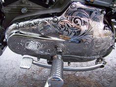 Motorcycle Engraving