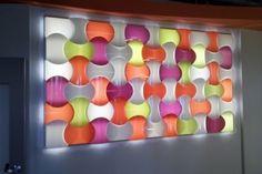 DesignRoom Galéria 3d Wall, Wall Art, Healthcare Design, Light Art, Pediatrics, Dental Offices, Lights, Office Ideas, House