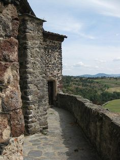 old stone walls, the Auvergne via Deborah Harkness
