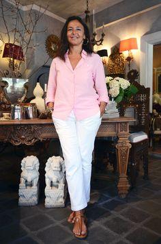 Aslı Günşiray is an interior decorator and antique dealer with a shop in Çukurcuma.