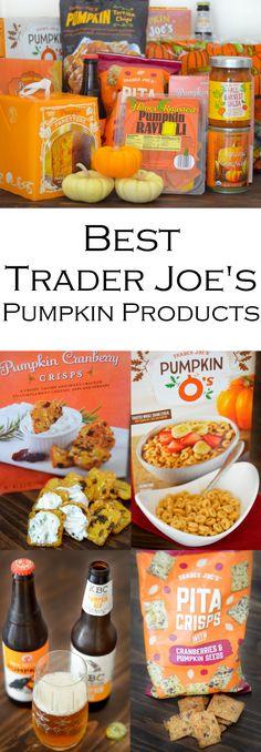 Best Trader Joe's Pumpkin Products