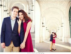 Engagement shoot for a Natalie and Matt in dc! Makeup and Hair by Larissa!
