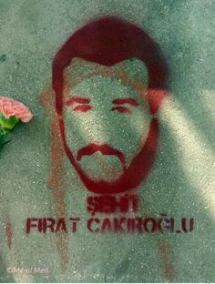Şehit Fırat Çakıroğlu  ... Gül bahçelerimi gör de Baharımı anla... Muhsin Yazıcıoğlu ... Photograph by Meral Meri