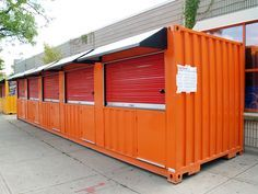 Retail Shipping Container Shops and Kiosks - Storstac Container Restaurant, Container Office, Container Shop, Building A Container Home, Container Buildings, Container Architecture, 20ft Shipping Container, Shipping Containers, Firework Stands