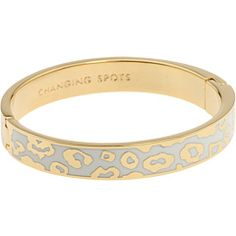 Kate Spade New York Idiom Bangles Changing Spots White/Gold