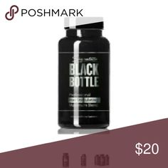 Black Bottle Hair Growth Support Vitamins Black Bottle Hair Growth Support Vitamins - Hair Loss Help Supplement DHT Blocker Help - Saw Palmetto - Biotin 10000 MCG - Hair Loss Products for Men Potent 40+Ingredient Restoration + (No Minoxidil) Other