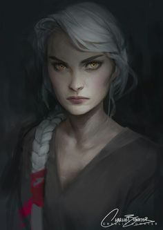 Manon Blackbeak, the last Crochan Queen. This is my absolute favorite fan art of Manon, it's exactly how I pictured her ❤️