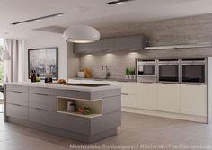 reno grained contemporary kitchen