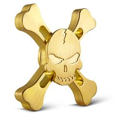 Buy Skull and crossbones fidget spinner Australia. Best Quality Brass Material skull spinner edc. Skull fidget spinner average spin time 5-6 Minutes.  #skullandcrossbonesfidgetspinner #skullspinneredc #skullfidgetspinner
