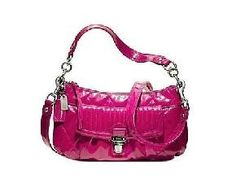 NWT Coach Poppy Groovy Liquid Gloss Magenta Crossbody w/dustbag * Free Ship Coach Poppy, Magenta, Poppies, Dust Bag, Ship, Shoulder Bag, Purses, Pretty, Bags