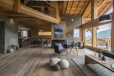 miniature Chalet in Serre-Chevalier, Briançon, Sandrine Riviere – photographer Source by jackduvigneau Chalet Design, Chalet Style, House Design, Modern Log Cabins, Modern Rustic Homes, Building Design, Building A House, Chalet Interior, House Goals