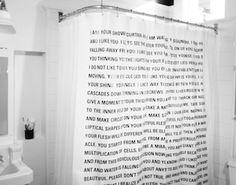 Dave Eggers Shower Curtain