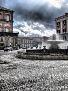 Piazza Trieste - Naples, Campania, Italy