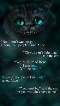 Alice in wonderland Wallpaper by - 08 - Free on ZEDGE™ now. Browse millions of popular alice in wonderland Wallpapers and Ringtones on Zedge and personalize your phone to suit you. Browse our content now and free your phone Cheshire Cat Quotes, Cheshire Cat Tattoo, Cheshire Cat Art, Cheshire Cat Tim Burton, Cheshire Cat Disney, Cheshire Cat Smile, Tattoo Cat, Film Tim Burton, Alice And Wonderland Quotes