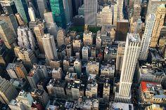 New York City skyline panorama | New York City Manhattan aer… | Flickr