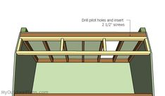This step by step diy woodworking project is about duck blind plans free. The project features instructions for building a permanent duck blind. Plywood Panels, Plywood Sheets, Woodworking Projects Diy, Woodworking Plans, Duck Blind Plans, Floor Framing, Wooden Playhouse, Diy Shed, Play Houses