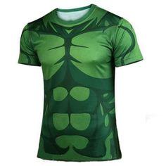 Hulk Marvel T shirt Avengers Costume Comics Superhero mens
