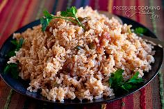 Quick and Easy Spanish Rice from PressureCookingToday.com
