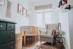 This time last year I finished Wrens nursery not knowing we were having a boy or if they would make an appearance Brass Handles, H Style, Interior Styling, Baby Room, Nursery Decor, Cribs, Fun Facts, Sweet Home, Bed