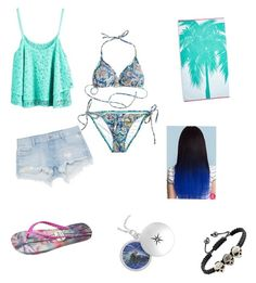 """""""Brooklyn Beach"""" by pudda176 ❤ liked on Polyvore featuring Calypso Private Label, Gandys and Zara"""