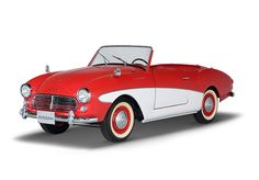 1961 Datsun Fairlady 1200 Roadster | A rare model - produced between 1961-1962, only 217 units were built.