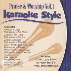 Praise And Worship 1 Karaoke Style - Christian Compact Disc for $11.03 | C28.com