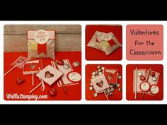 Valentines For The Classroom Featuring Sending Love DSP - YouTube