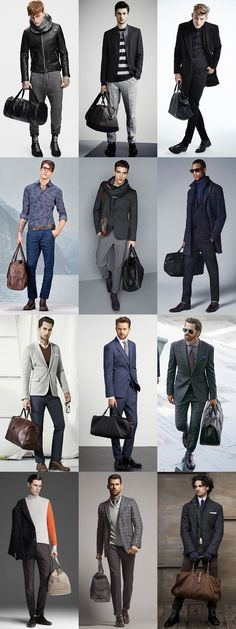 Key Menswear Pieces For Autumn/Winter 2014 : The Holdall Lookbook Inspiration