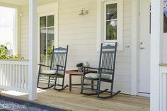 Gemütliches Leben auf der Porch.