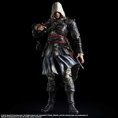 Assassin´s Creed IV Black Flag Action Figure Edward Kenway 28 cm