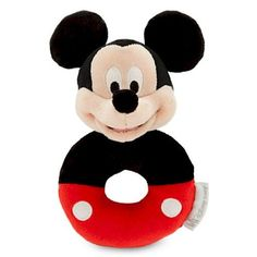 Disney Mickey Mouse Plush Rattle for Baby ** Be sure to check out this awesome product.