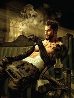 Deus Ex: Human Revolution (concept art). Cyborg arms are all the rage in 2027.