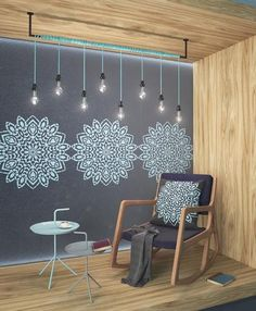 Our new ROUND MANDALA STENCIL is the ideal solution for DIY decorators. Alternate our stencils with different diameters and colors to achieve different visual effects on your wall: two or three simila