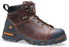 089631214 Timberland PRO Men's Endurance Work Boots - Brown www.bootbay.com