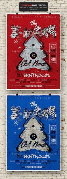 Christmas Vintage Flyer - Poster