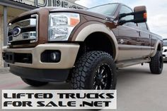 2011 Ford Super Duty F-250 King Ranch 4WD Lifted Truck