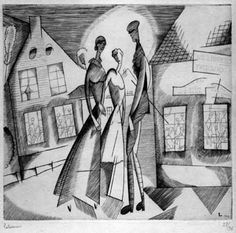 Jean Émile Laboureur, né à Nantes le 1877 et mort près de Pénestinen 1943, est un peintre, dessinateur, graveur, aquafortiste, lithographe et illustrateur français. Auteur de nombreuses gravures au burin, il a illustré près de quatre-vingts livres, souvent d'auteurs contemporains comme Giraudoux, Colette, Gide, P.-J. Toulet, Maeterlinck, Mauriac. Peintre de tableaux de genre, de paysages animés ou non, de natures mortes, il a réalisé aussi quelques fresques et des sculptures.