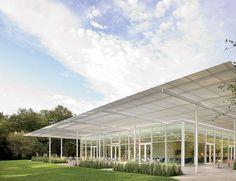 Brochstein Pavilion  Architect: Thomas Phifer & Partners  Landscape Architect: The Office of James Burnett