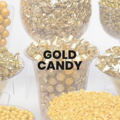 Strike sweet gold with our bulk gold candy and candy coins! Your family event will sparkle and shine with the delicious shimmer of these gold-wrapped candies. Candy Board, Gold Candy, Sweets, Recipe, Food, Gummi Candy, Candy, Essen, Goodies