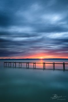 Cloudy Sunset at Podersdorf am See, Neusiedlersee, Burgenland by Jerzy Biń, via 500px