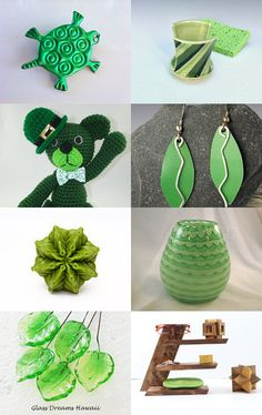 Lucite Green by Agnieszka N. on Etsy--Pinned with TreasuryPin.com