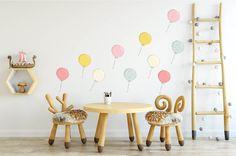 Naklejki ścienne pastelowe balony HIT - Paulina-Zielkiewicz - Dekoracje pokoju dziecięcego