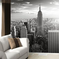 Fancy - Manhattan Skyline Wallpaper