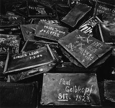 Michael Kenna : Suitcases, Auschwitz, Poland